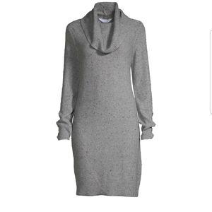 Cowl Neck Sweater Dress XXL